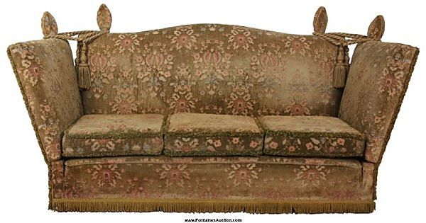 Auction Lot 171 Knole Style Lounge Sofa Vintage Furniture For Sale Antique Living Rooms Style Lounge