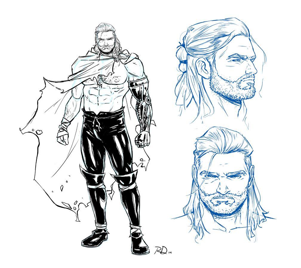Character Design An Artist Resource : Comics thor artist russell dauterman reveals quot unworthy