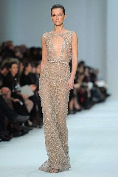 Elie Saab, spring 2012 couture #runway Looks like T-Swift's 2012 Grammy Dolce & Gabbana dress