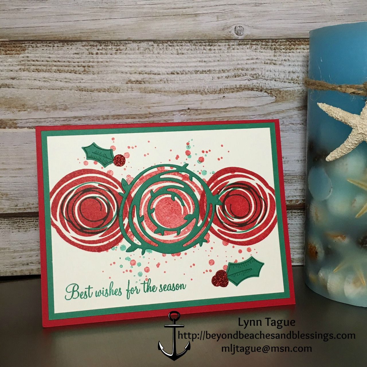 Stampinup christmas card made with swirly bird and holly berry bird cards kristyandbryce Image collections