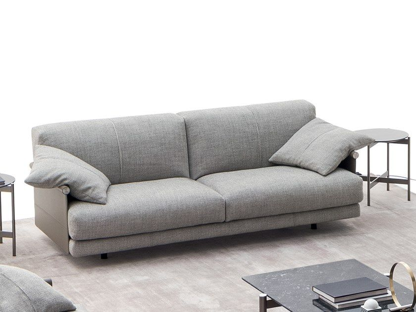 2 Seater Fabric Sofa Althon High By Ditre Italia Fabric Sofa