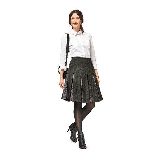 82ed283ead Burda Style Pattern B6466 Misses' Pleated Skirt   Moda fashion ...
