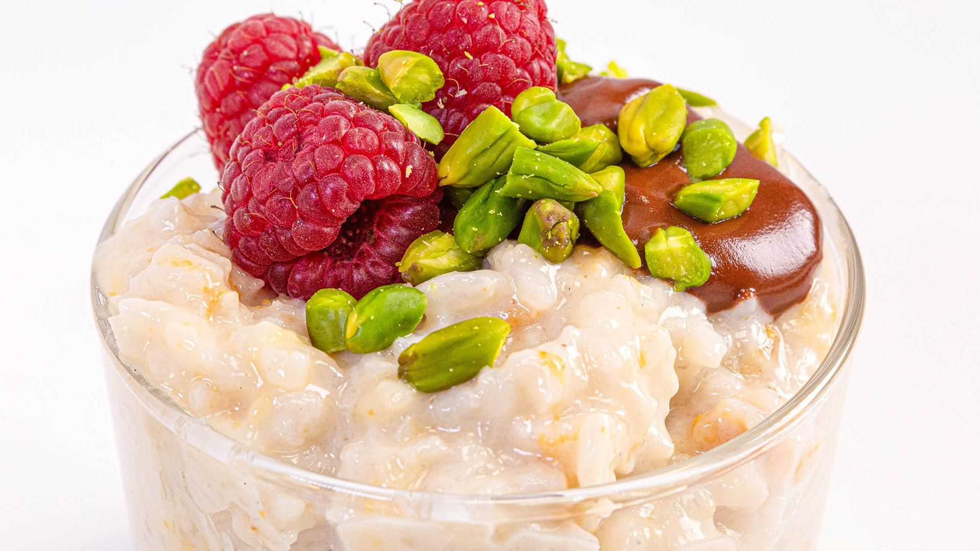 Coconut Rice Pudding Made With Leftover Rice | Gail ...