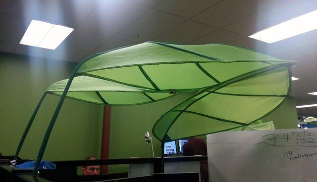 Google Leaf Light Shields Cubicle Shade Diy Canopy