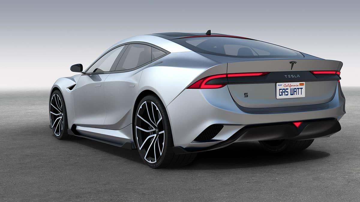 New Tesla Model S P150d I 2020