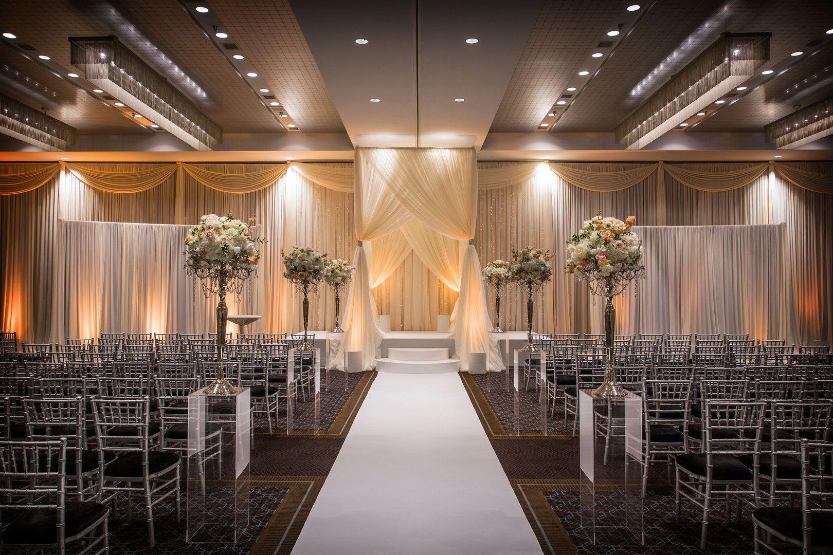 Luxurious Winter Wedding At Hotel Arista In Naperville Il Captured By Jason Kaczorowski Photography See M Winter Wedding Wedding Ceremony Decorations Wedding