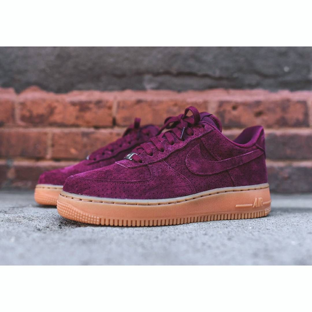 Burgundy Airforce 1 Available Now Only R1600 Sneakers Exclusive Sneakers Nike Air Force Sneaker