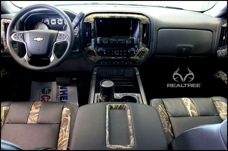 Chevy Truck With Realtree Max5 Interior Realtreemax5 Truck