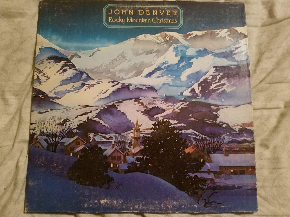 John Denver Rocky Mountain Christmas-Holiday Music-RCA-Album-LP ...