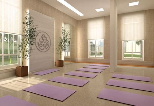 Como Decorar Una Sala De Yoga Sala De Yoga Salas De Meditación Diseño De Estudio De Yoga