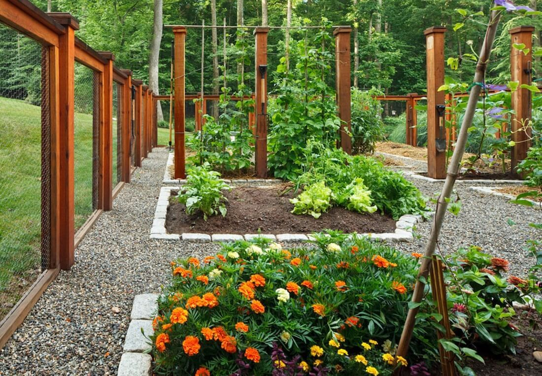 5 Stylish and Functional Garden Edging Ideas (Fres Home) is part of garden Edging Fence - Whether you're designing a garden from scratch or trying to figure out ways to make your current garden more attractive, you might want to consider looking at garden edging ideas  Garden edging is not