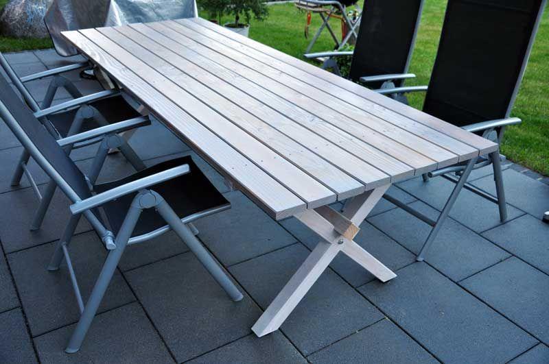 Selbstbau Gartentisch aus Douglasie | Terasse | Pinterest ...