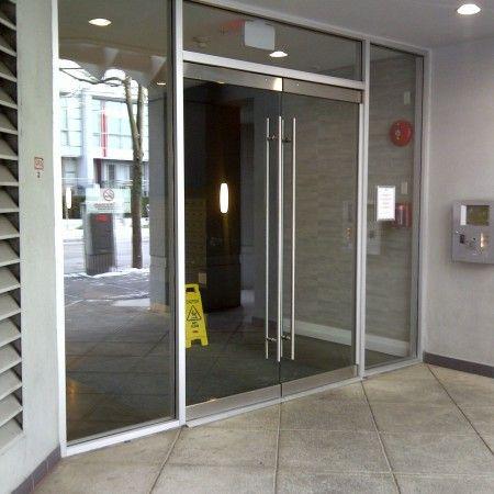 apartment building glass doors - Google Search | Glass door ...