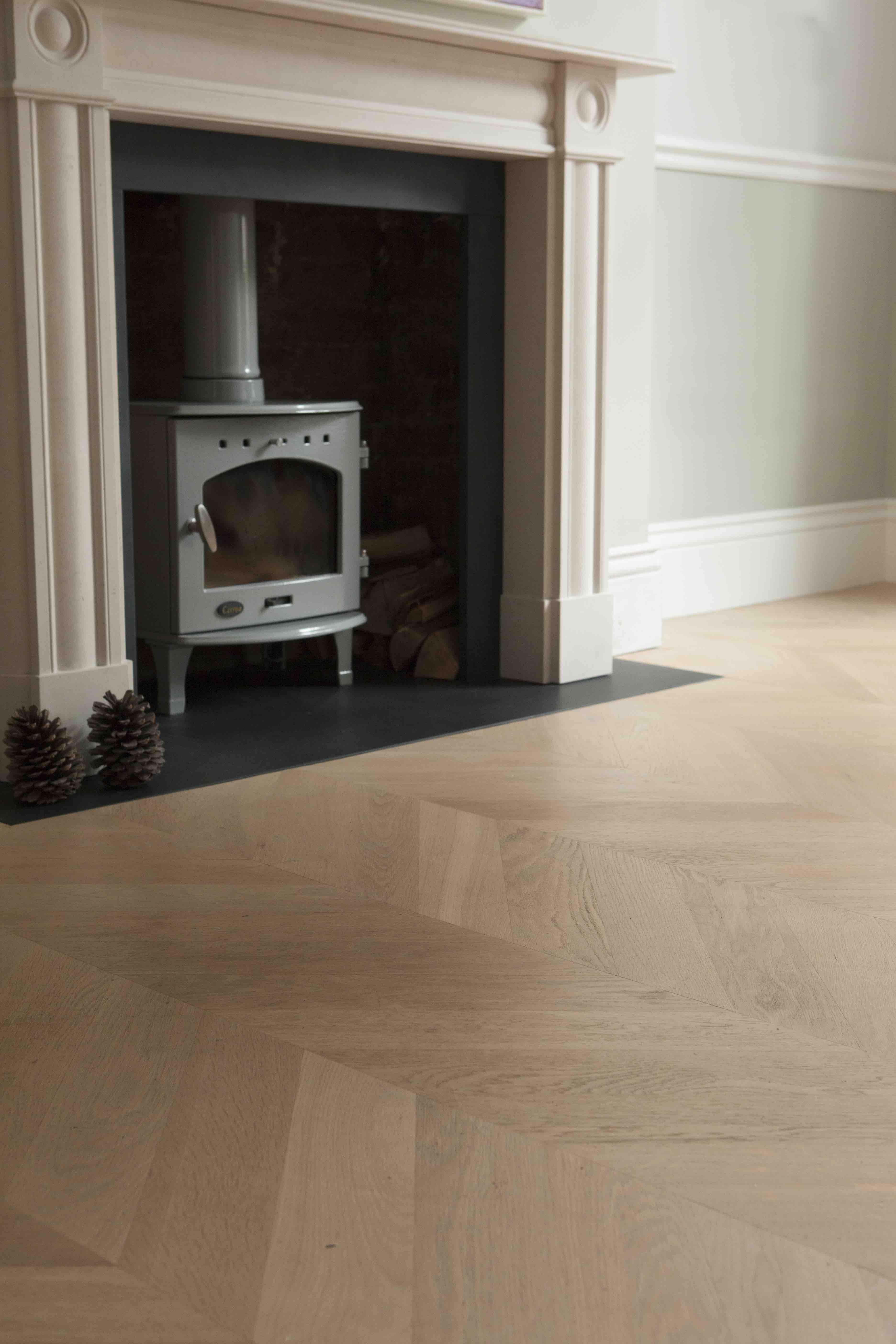 Our oak chevron wood flooring Engineered parquet
