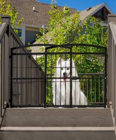 Pet Gate, Outdoor Pet Gate For Deck