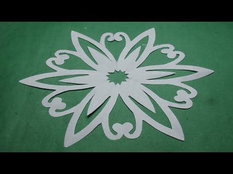 How to make simple easy paper cutting flower designspaper flowers how to make simple easy paper cutting flower designspaper flowersdiy instructions step mightylinksfo