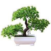 heaven2017 Mini Tree Bonsai Tree Artificial Potted Plant Ornament Home Decor Gre...#artificial #bonsai #decor #gre #heaven2017 #home #mini #ornament #plant #potted #tree