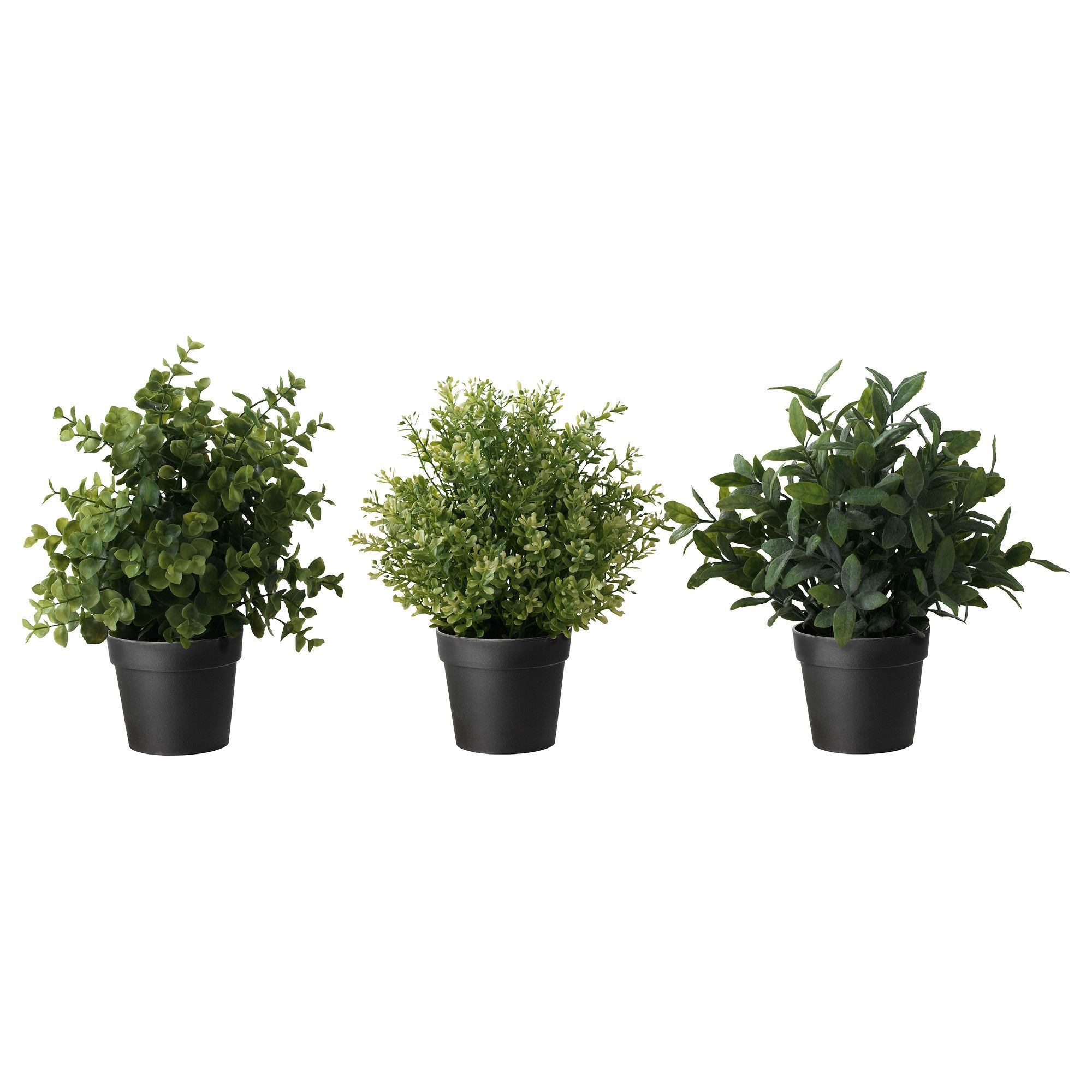 FEJKA Artificial potted plant, herbs, assorted species
