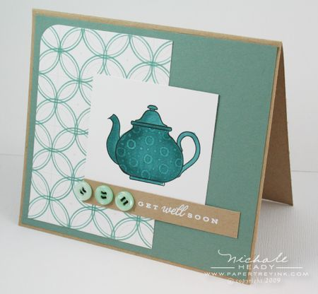 I like the simplicity of the teapot