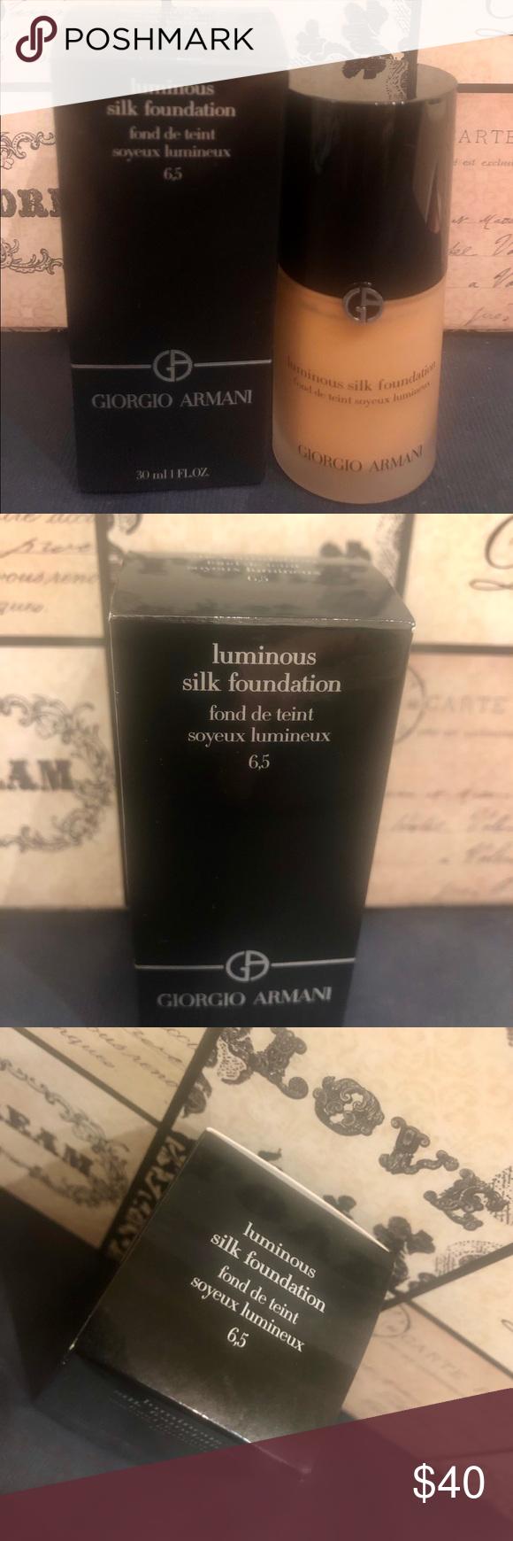 Armani Beauty Luminous Silk Foundation 6.5
