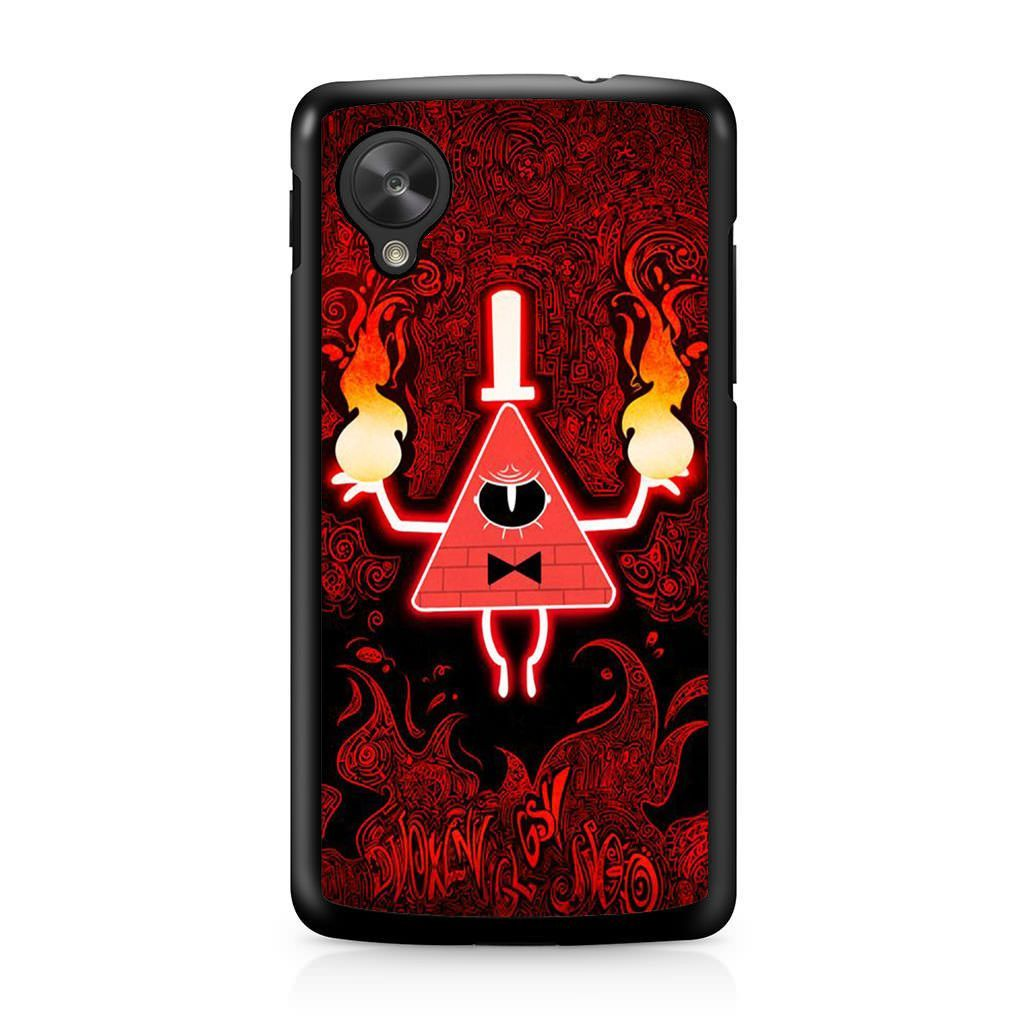 Gravity Falls Bill Cipher Angry Nexus 5 Case