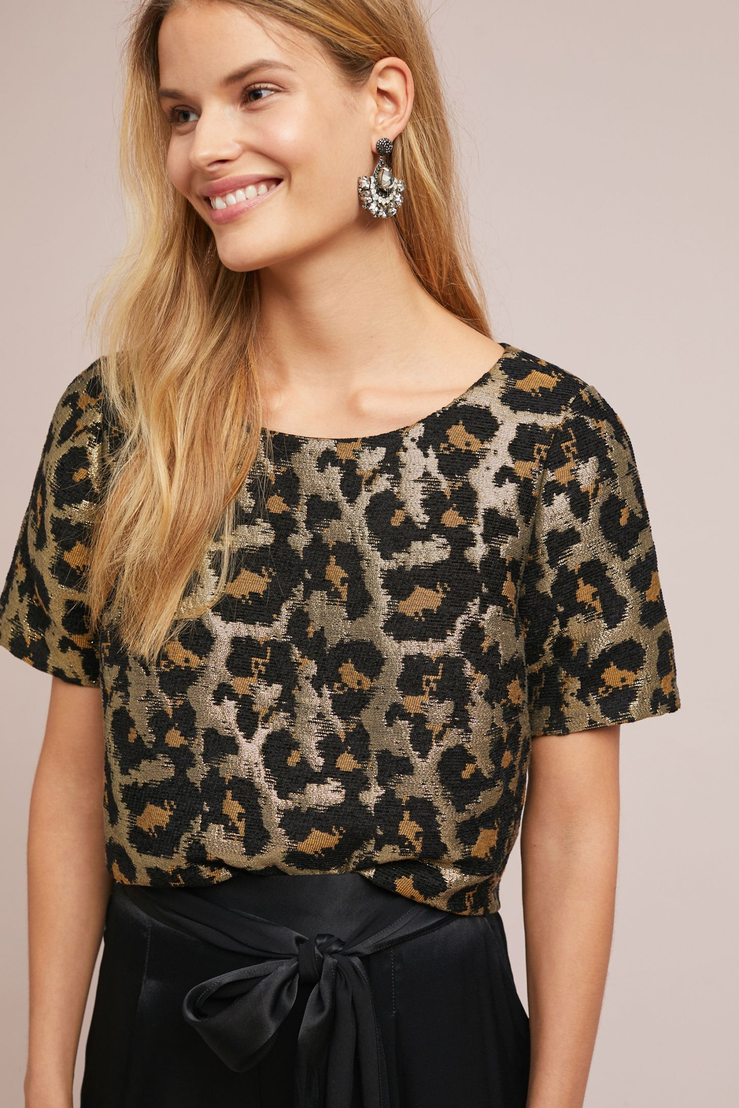e870593c57 Leopard Top | My Style | Leopard top, Tops, Leopard outfits