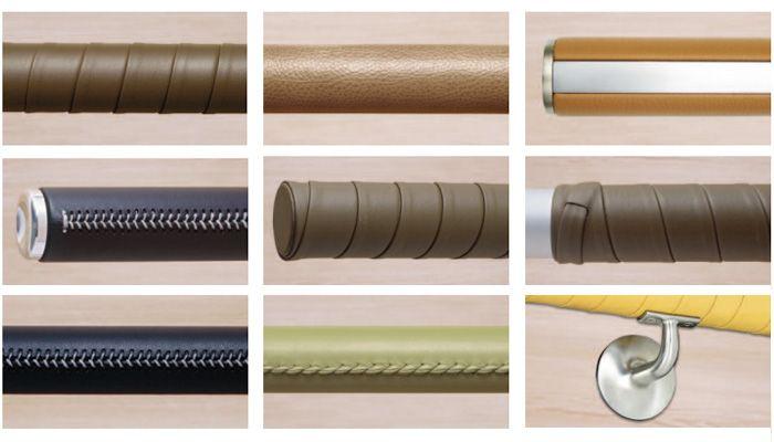 Best Spinneybeck Leather Handrails Handrail Design Handrail 640 x 480