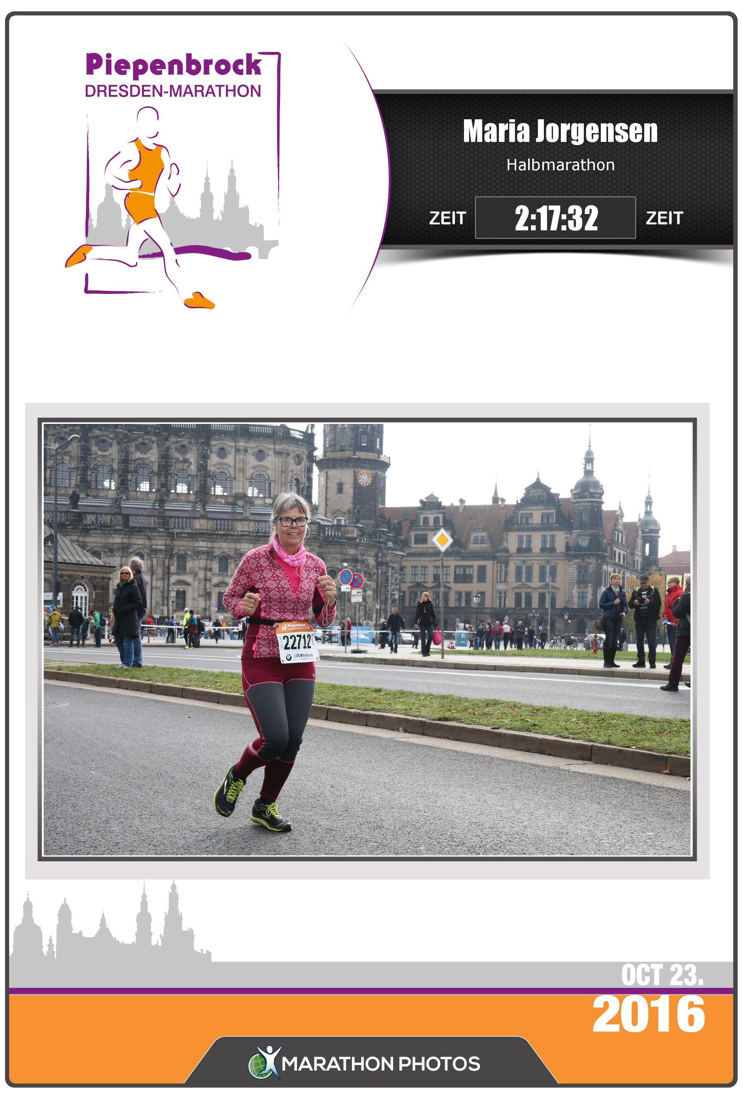 """Maria har et årligt halvmaraton """"pensum"""" på 4 og hun valgte som nummer 3 i rækken efter """"Göteborgsvarvet"""" og """"Indvielse af Silkeborg motorvej"""", at tilmelde sig Dresden Marathon. Her er beretningen om vores Tysklandtur og Halvmarathon i Dresden."""