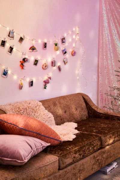 Photo Clip Firefly String Lights Room Cheap Bedroom Decor Dorm Decorations Retro Home Decor