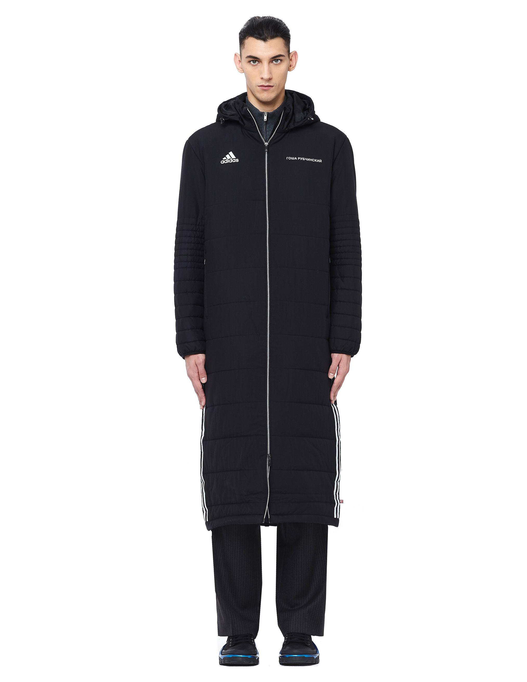 Gosha Rubchinskiy Adidas Padded Coat Gosharubchinskiy Cloth Black Adidas Coat Gosha Rubchinskiy