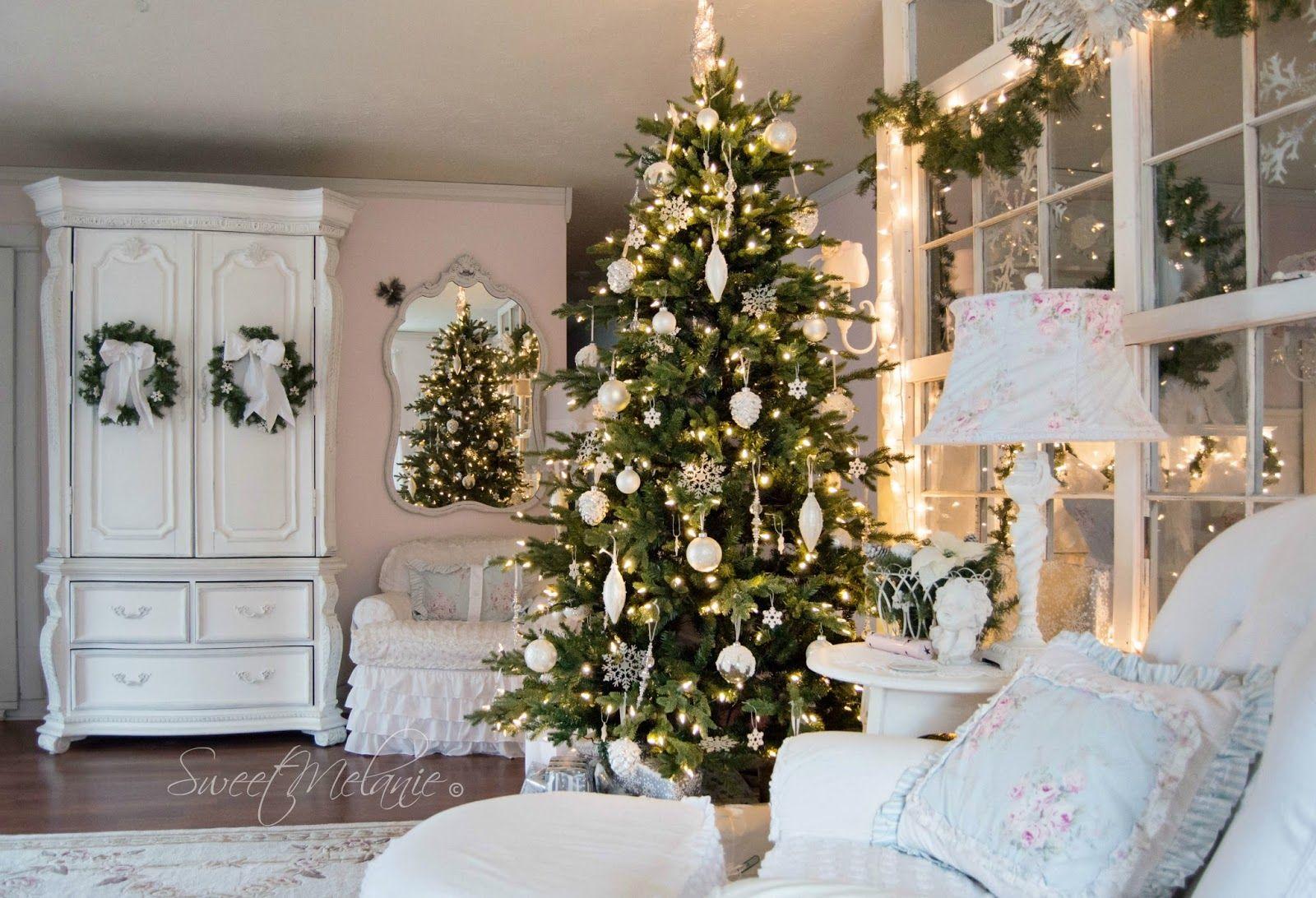 Shabby Chic Natale : Natale a casa di melanie huis versierings shabby