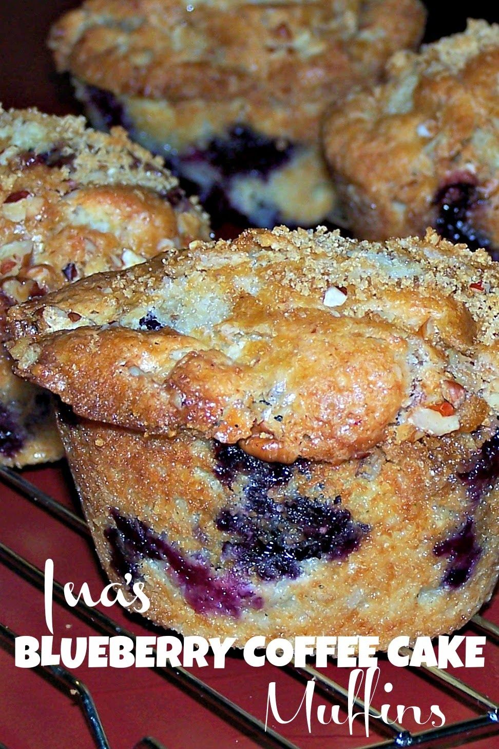 ina garten blueberry sour cream coffee cake muffins