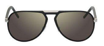 Dior Homme Al13.2 Black / Aluminium Frame/Gunmetal, Silver Gradient Mirror Lens Aluminium Sunglasses