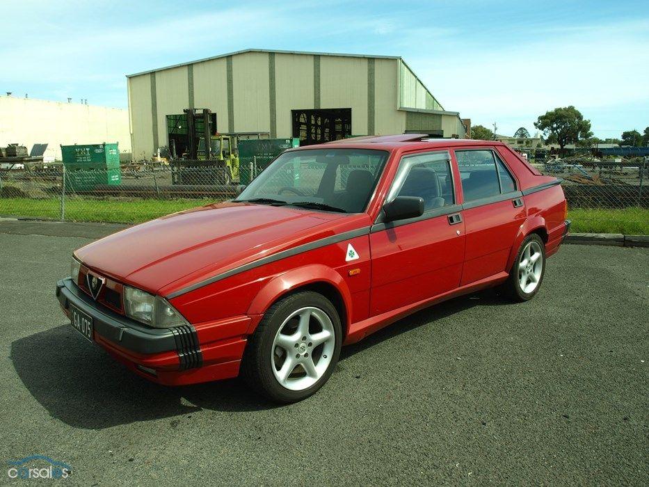 1988 Alfa Romeo Alfa 75 Alfa romeo, Cars for sale, Romeo