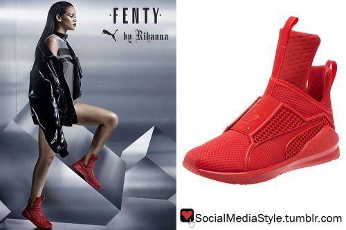Puma Rihanna Fenty Red