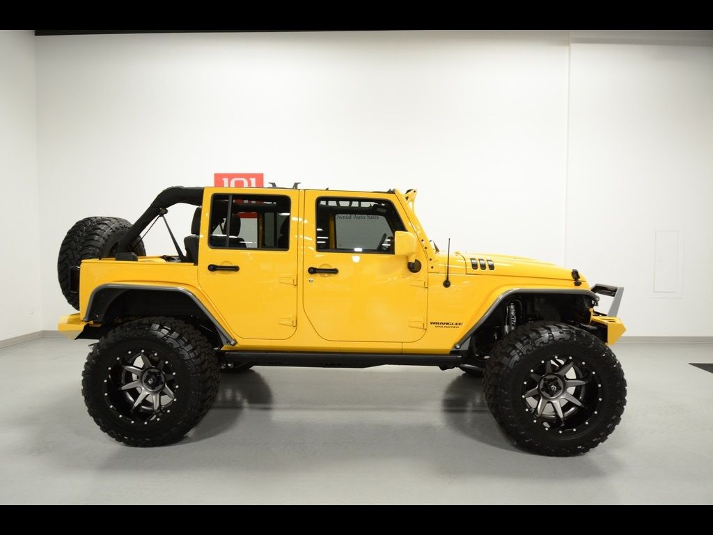 Used 2015 Jeep Wrangler Unlimited Sport for sale in Tempe