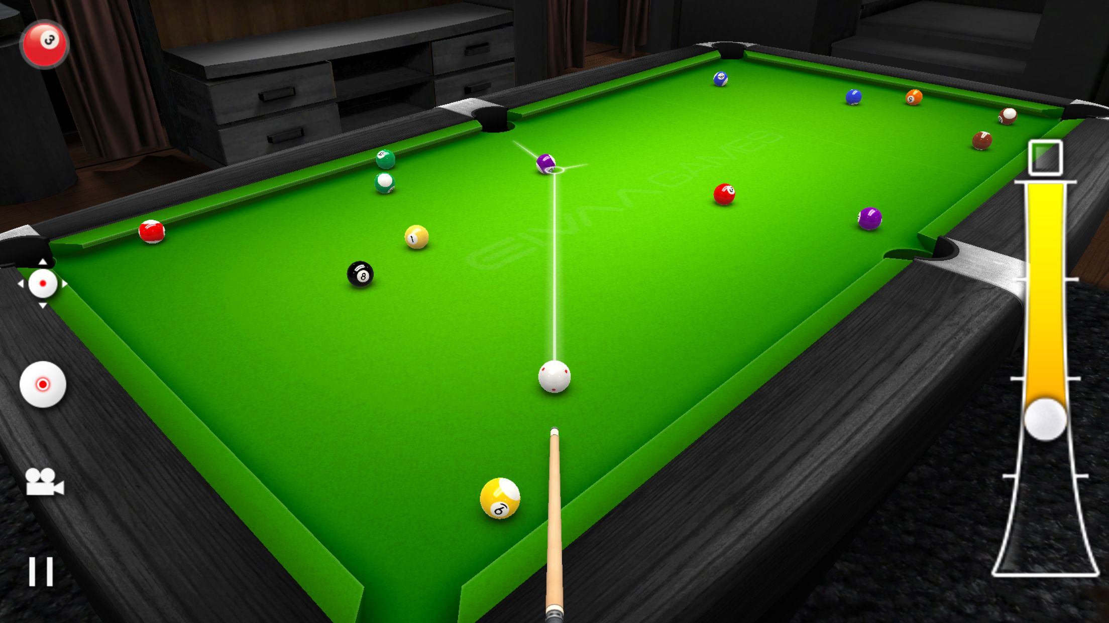 Real Pool 3D by EivaaGames for iPhone and Android  | Games
