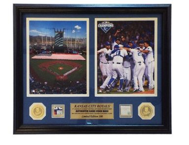 "25 Days of Xmas Gift Ideas' Day 8 celebrates two Regular Season games that were extra great. Available in the ""Framed Products"" section on www.royals.com/authentics"