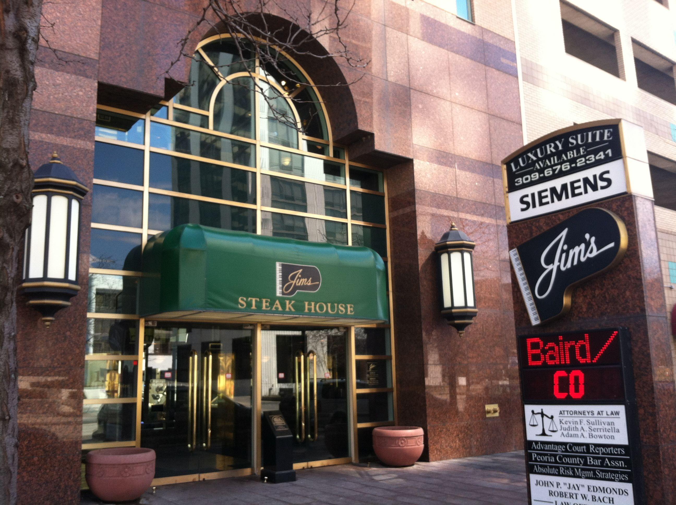 Jim S Steakhouse In Downtown Peoria Illinois