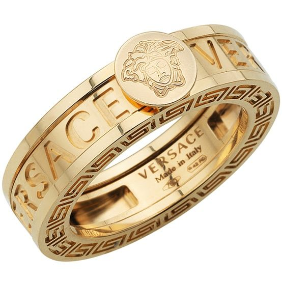 versace bangle look at the Greca on the sides and the Medusa on
