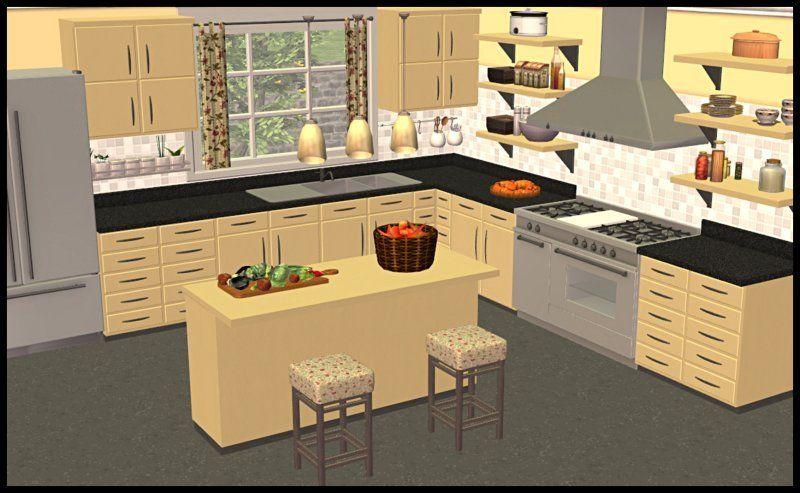 Wds Kitchen In Yeti Colors Sim2 Kitchens Kitchen Room Set Room