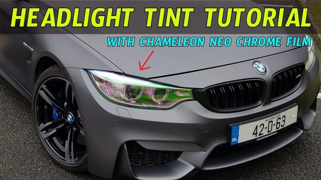 How to install Headlight Tint Film with our DIY POV tutorial