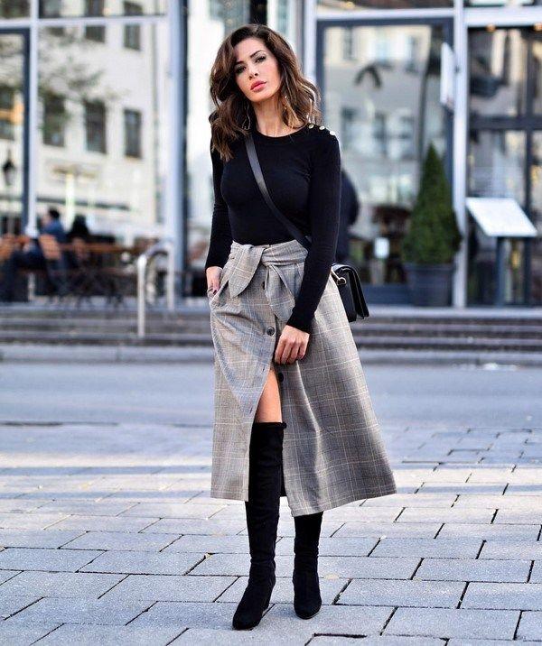 Street style образы осень-зима 2019-2020: уличная мода ...