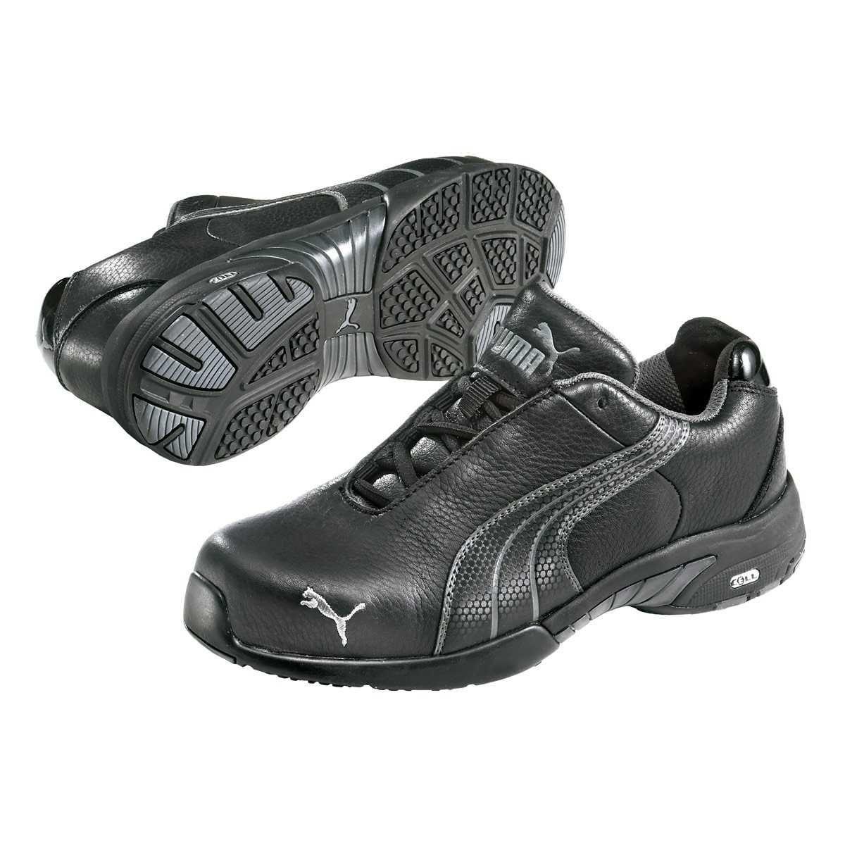 Steel toe shoes, Steel toe work shoes