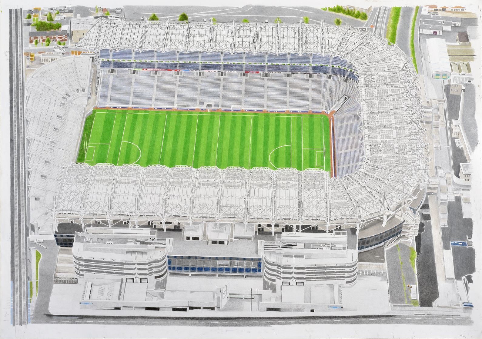 Croke Park - home of the Gaelic Football Association by Brian Casey ...