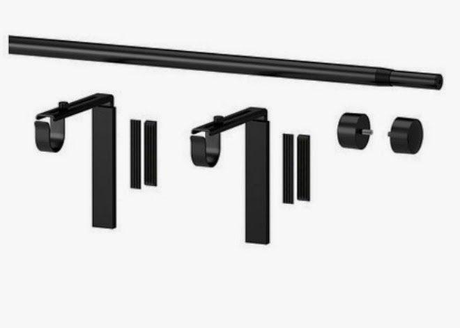Ikea Hack Kraft Paper Dispenser For Under 15 Curtain Rods