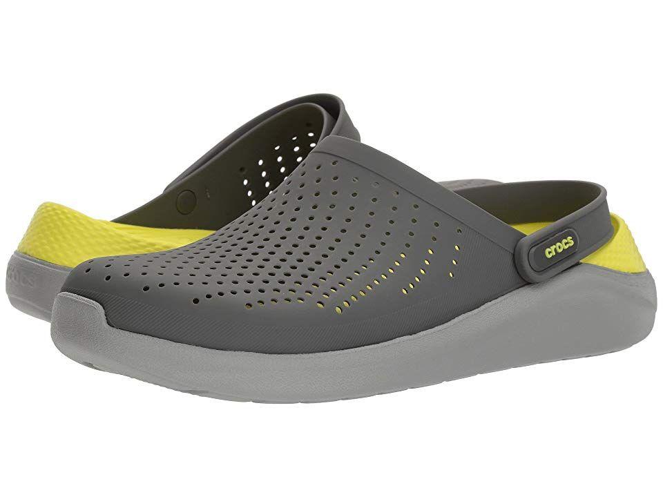 Crocs LiteRide Clog (Slate Grey/Light