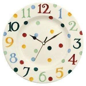 Emma Bridgewater Polka Dot Clock Polka Dots Stripes