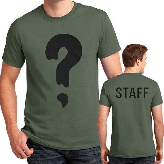 Soos Ramirez Question Mark T-shirt Gravity Falls Halloween Costume Mens Kids sizes #halloweencostumesformen