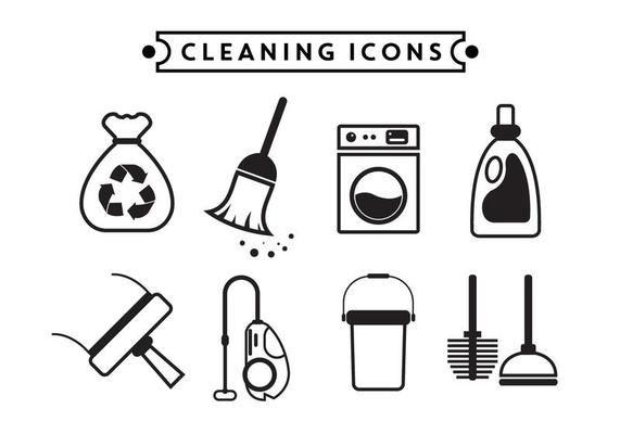 Cleaning Vector Icons Cleaning Vector Icons Cleaning Service